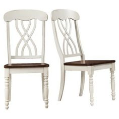 Countryside Antique Chair - Set of 2, these would look great with a farmhouse table