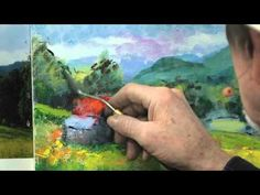 ▶ How to Use a Palette Knife in Oil Painting - YouTube
