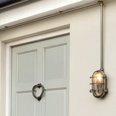 Conduit Kit used with our Bulkhead Outdoor Light in Antiqued Brass Cabin Lighting, Outdoor Wall Lighting, Exterior Lighting, Cool Lighting, Modern Lighting, Lighting Ideas, Conduit Lighting, Outside Lamps, Vintage Industrial Furniture