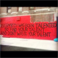find your talent