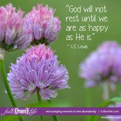 We are blessed...   www.fullherlife.com