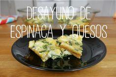 Tortilla al horno de espinaca y quesos | Recetas Clean Eating | FitFood 4K