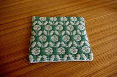 試作・花模様のこぎん刺し。 : mielilei