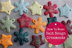I did this years ago with the kids! How To Make Salt Dough Ornaments - MommypotamusMommypotamus |