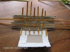 Splot bochonochek master class z wkładki papierowej Słomki zdjęcie 7