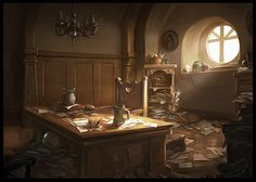 Messy Office by Josh Kao