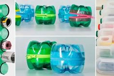 30 super moyens créatifs de réutiliser vos bouteilles en plastique!