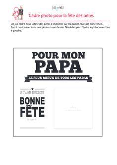 French Lessons, Art Lessons, Cadeau Grand Parents, Fathers Day Crafts, Papi, Art Lesson Plans, Toddler Crafts, Grandparents, Activities