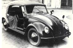 VW typ 18A por Hebmüller. 482 unidades producidas entre 1948-1949