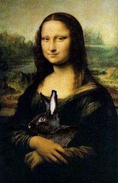 Mona Lisa.....BUNNY!