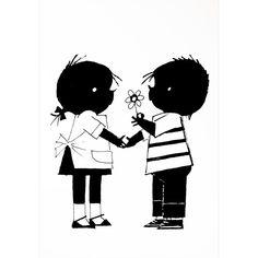 #Poster Jip en Janneke #Bloem | Hikjes in Huis