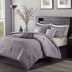 Hensley 7 Piece Comforter Set