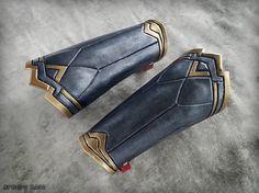 Wonder Woman Cosplay Bracers by ArmoryRasa on Etsy
