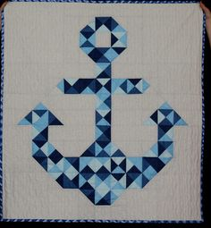 Denise's Anchor's Aweigh | by Kansas City Modern Quilt Guild