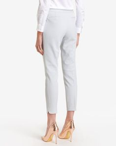 Waffle suit trousers - Grey | Tailoring | Ted Baker UK