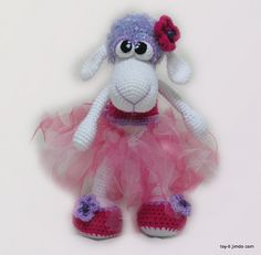 Melissa The Little Sheep.~ pattern for purchase