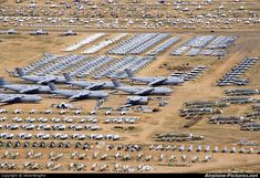 Airplane boneyard. BTW, why can't I just fly some of those planes. I'll keep them safe.