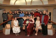 Star Trek γάμος στη Βρετανία