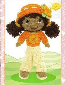 Orange Blossom Doll