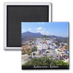 Kythira town – Kythira Refrigerator Magnets