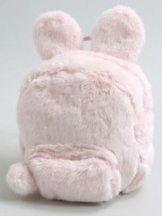 Fluffy Bunny Backpack - Pink/White/Black                                                                                                                                                                                 Más