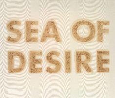 Ed Ruscha - Sea Of Desire 1973 - I was so so happy in 1973, and yes A Sea of Desire.