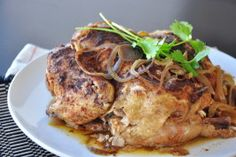 Crock Pot Whole Chicken - the best recipe I've found.  Use it every time I slow cook a chicken.  Leftovers make an awesome pot pie!