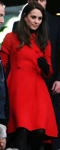 18 Mar 2017 - Duchess of Cambridge attends Wales v France 6 Nations Rugby game in Paris