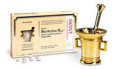 Stærke sugetabletter med aktivt B12 i form af methylcobalamin