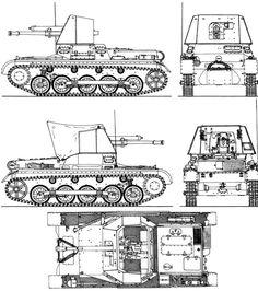 4.7cm Pak 1 (Stl) Pz.Kpfw.I Ausf.B Panzerjager I