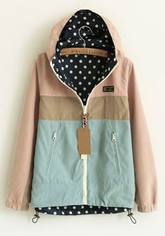Love this spring rain jacket
