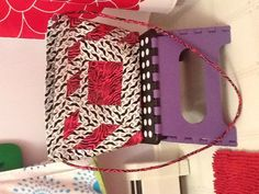 Homemade by me duct tape purse