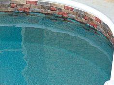 Malibu Blue Mosaic 27 Mil Pool Liner Pool
