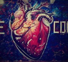 """RECORDARI Detalle #JoelMerino #oaxaca #street #art #artemexicano #mexico #corazon #heart #alma #amor #odio #lovehate  #love #hate #streetartistry…"""
