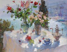 Slava Korolenkov / Вячеслав Короленков, 1958 | Figurative Impressionist painter | Tutt'Art@