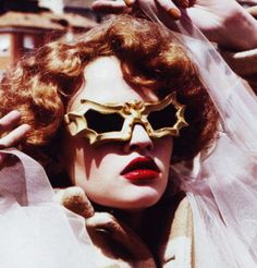 Bat glasses that belonged to Peggy Guggenheim