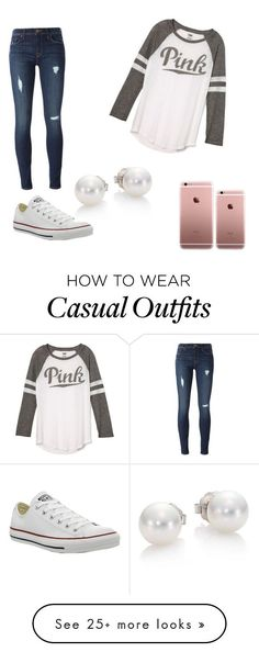 """Casual Day "" by princessbrandik on Polyvore featuring Victoria's Secret, Hudson..."