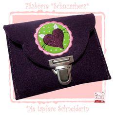 Filzbörse, Etui von Die tapfere Schneiderin, handmade with love ... by Viola auf DaWanda.com