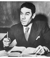 Lyman T. Johnson, history teacher at Louisville Central High School and the first black person to attend the University of Kentucky. Lyman T. Johnson Middle School is named after him.