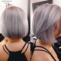 Amazing hair color gradient that goes from an ashy gray hue at the roots to aqua to neon green by Tennessee from Laverna Hair!…