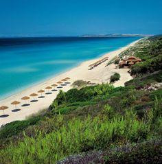 Sani Beach, near Thessaloniki, Greece Beach Hotels, Beach Resorts, Sani Beach, Best Beaches In Europe, Halkidiki Greece, Places To Travel, Places To Visit, Costa, Macedonia Greece