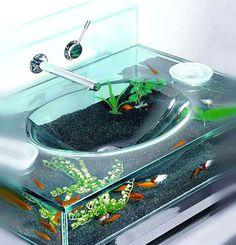 14 Best Fish Furniture Images In 2013 Aquarien Aquarium Ideen