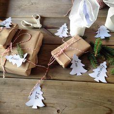 Étiquettes cadeaux de Noël ! Robicie