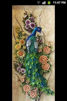 quilling with a comb tutorial - Google Search