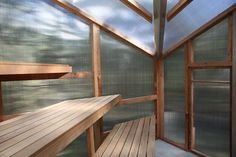studio rain revives bathing culture with sauna installation in melbourne Building A Sauna, Building Plans, Prefabricated Structures, Sauna Design, Modern Shed, Ritual Bath, Reclaimed Timber, Construction Process, Western Red Cedar