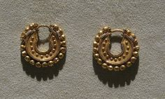 https://flic.kr/p/6LjNh6 | Achaemenid Gold Jewelry: Earrings | Achaemenid Gold…