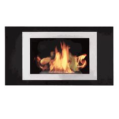 Model: OZF is a sleek stainless steel wall Mounted Ethanol Fire Place that comes with a bracket that can easliy be mounted onto any internal or external wall. Biofuel Fireplace, Bioethanol Fireplace, Outdoor Fireplaces, Wall Mounted Fireplace, Fireplace Inserts, Superior Fireplace, Fireplace Stores, Traditional Fireplace, Steel Wall