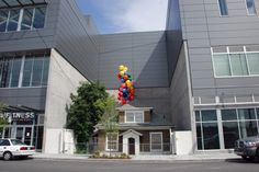 "The ""Up"" house in Seattle: It's being saved from demolition! Go visit."