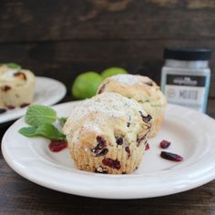 Cranberry Mojito Muffins using Your Inspiration at Home flavored Mojito Sugar. #YIAH