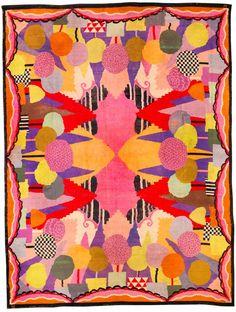 carpet by René Crevel, circa 1925